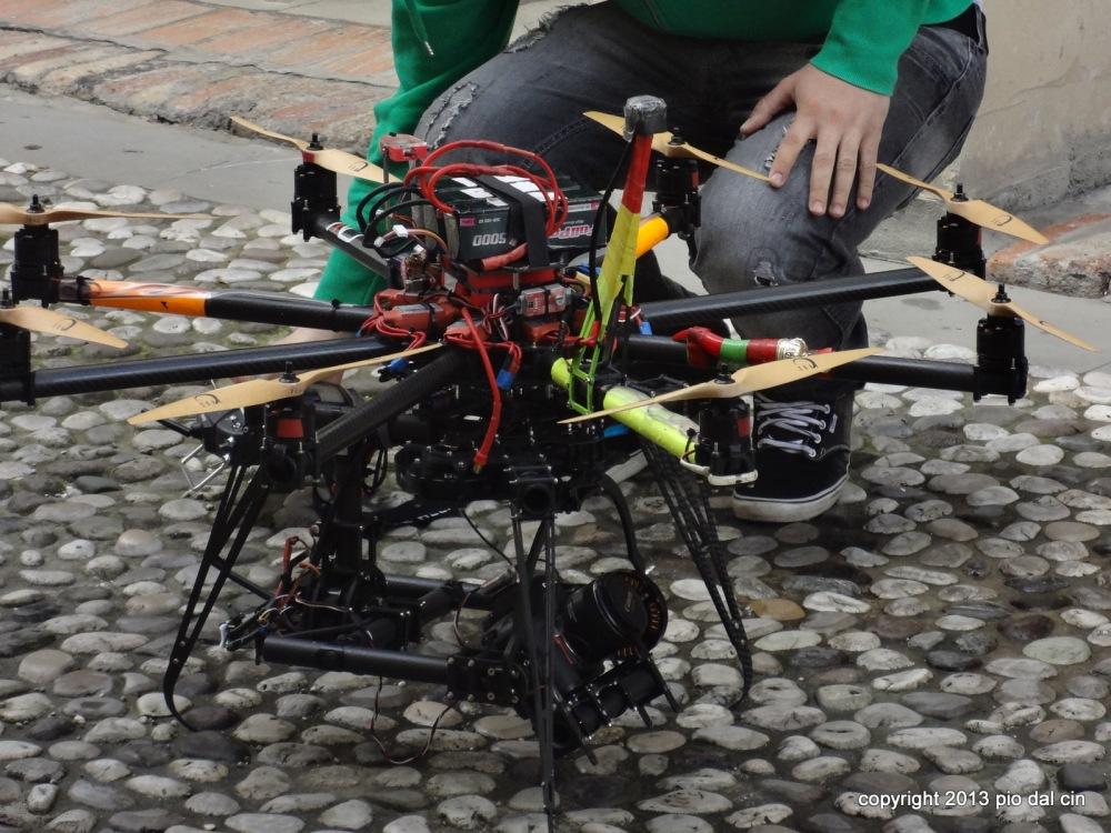 Drone fotografico Portobuffolè