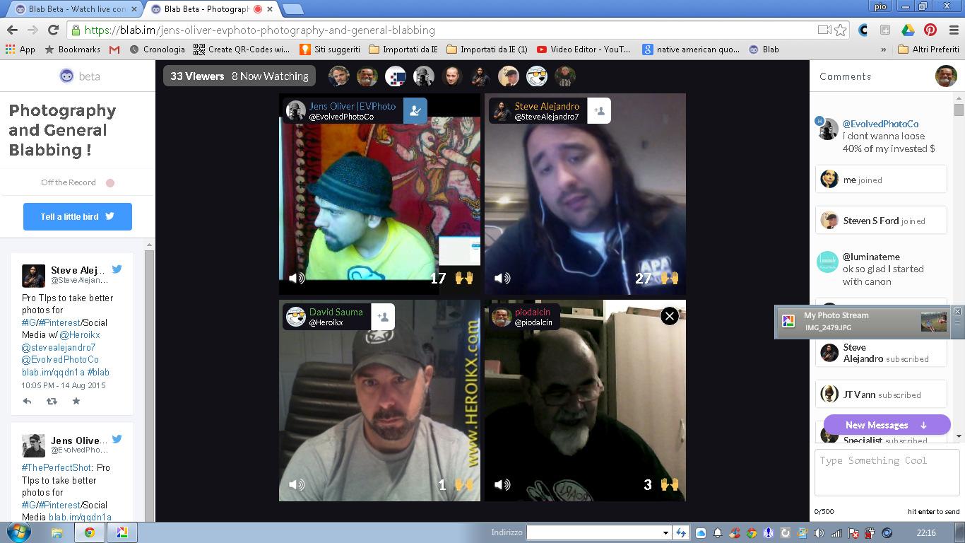 Blab Chat Room
